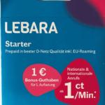 Lebara anonyme sim karte kaufen