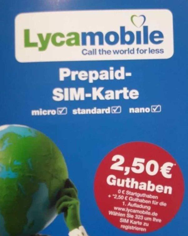 lyca mobile prepaid aktiv anonyme sim karte registriert aktiviert