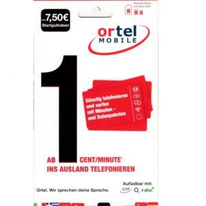 ortel-prepaid-aktiv-anonyme-sim-karte-7.50€-guthaben-registriert-aktiviert